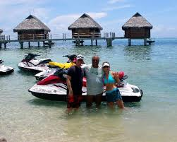 Mark, Jean Pierre and Michelle - Picture of Moorea Jet Ski Tours ... - mark-jean-pierre-and