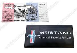 1965 ford mustang owners manual u0026 wallet u2022 22 25 picclick