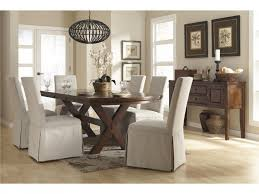 Plastic Seat Covers For Dining Room Chairs by Dining Room Extraordinary Rustic Dining Room Furniture With White
