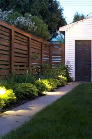 Solar Fence Lighting by Backyard Lights Post U2013 Chicago