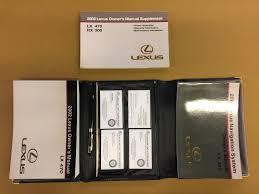 100 2000 lexus rx300 owners manual lexus rx 300 le for sale