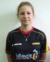 Tenis Stołowy, PingPong - www.pingpong.com.pl | Paulina Nowacka w ... - paulina-nowacka-1