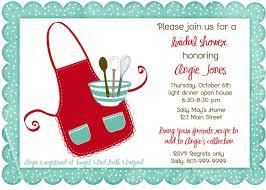 my favorite recipes book recipe shower invite