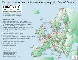 Map Of Ireland And England European Routes Sustrans