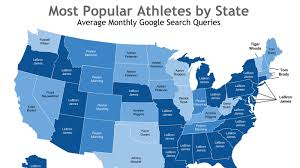 Peyton Colorado Map by Map Shows Who Your State U0027s Favorite Athlete Is Sbnation Com
