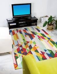 Coloured Rug Mondrian Mon75 Multi Coloured Rugs Modern Rugs House Design