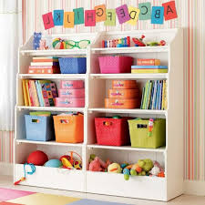 Kids Room Bookcase by Kids Bookcase Design Miniature Home Child Toys Red Silk Curtain