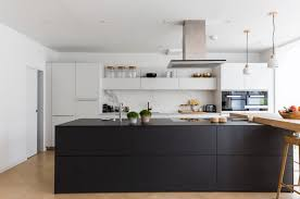 Cooking Islands For Kitchens 31 Black Kitchen Ideas For The Bold Modern Home Freshome Com
