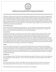 Resume For Nurses Free Sample by Student Nurse Resume Resume For Your Job Application