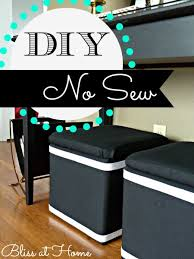 diy no sew recovered storage cubes bliss at home