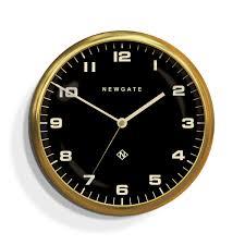 large brass gold wall clock newgate clocks chrysler