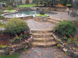 walkway ideas for backyard backyard landscaping designs into a resort paradise designs