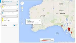 Lat Long Map Maps U2013 I Have Long U0026 Lat U2013 What Can I Do Yellowfin Business
