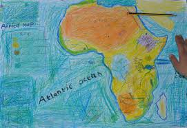 Physical Map Africa by Drawing A Physical Map Of Africa The Troutbeck