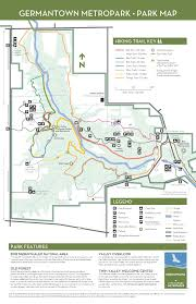 Ohio State Parks Map Germantown Five Rivers Metroparks