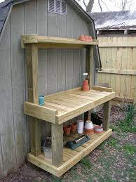 Plans To Build A Storage Bench by 25 Best Potting Bench Plans Ideas On Pinterest Potting Station
