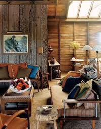 Rustic Wood Living Room Furniture Interior Design Cute Custom Vintage Living Sofa Set With Artwork