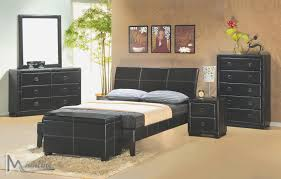 Modern Leather Bedroom Furniture Integra Queen Size Bed 8500 Mainline Inc Modern Bedrooms U0026 Beds At