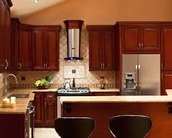 Kitchen Color Ideas With Cherry Cabinets Kitchen Colors With Dark Wood Cabinets