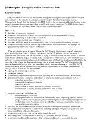 Sample Medical Technologist Resume by Emt Resume Resume Cv Cover Letter