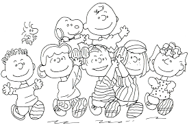 charlie brown coloring pages eson me