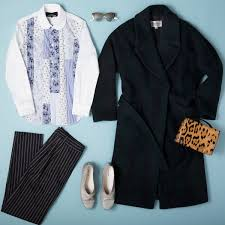 fashion month outfits day barneys new york day mix and match