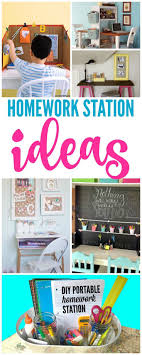 ideas about Homework Station on Pinterest   Kids Homework Station  Organizations and Desks Pinterest