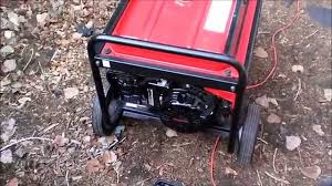 honda eb 5000x generator repair youtube