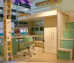 Cool Bunk Beds With Desk Latitudebrowser - Kids bunk bed with desk