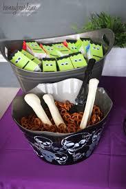 Halloween Gift Basket by Kids Halloween Party Ideas Honeybear Lane