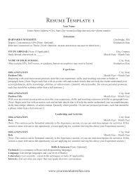 Blank Resume Examples Download Resume Format U0026 Write The Best Resume