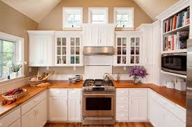 home interior design cape cod style kitchen with dark cream wall