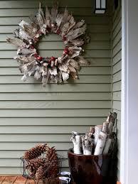 christmas wreaths repurposed wood