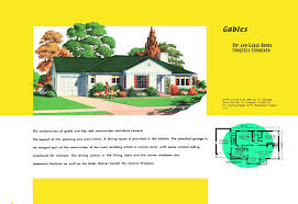 Garage Plans With Porch by Ranch Homes Plans For America In The 1950s