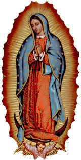 Una de los santos reverenciados en la Iglesia es la Virgen de Guadelupe