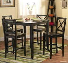 home design table black dining for small space saving at