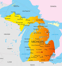 Map Of University Of Michigan by Michigan State Cna Requirements And Approved Cna Programs