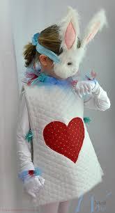 Bunny Halloween Costumes Kids White Rabbit Costume Alice Wonderland Rabbit Costume