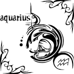 Aquarius Zodiac <b>Tattoo</b> Zodiac Tattoos <b>Tattoo</b> Tattoos <b>Tato</b> Tatto