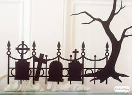 halloween window silhouettes atta says