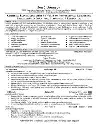 Imagerackus Excellent Sampleresumebcjpg With Attractive Electrician Resume Example And Picturesque Retail Resume Samples Also Cissp Resume In Addition     Get Inspired with imagerack us
