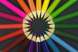 warna pensil berpelangi