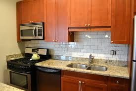 Backsplash For Kitchens Beautiful Kitchen Backsplash Oak Cabinets 004 24081848 Std With