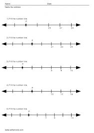 Decimal Addition Worksheets Math Number Line Addition Worksheet Touch Math Worksheets Number