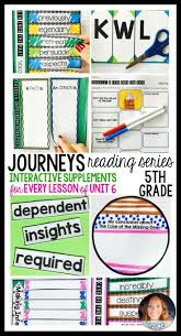 39 best journeys 5th grade images on pinterest 5th grades