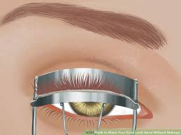 image led make your eyes look good without makeup step 1