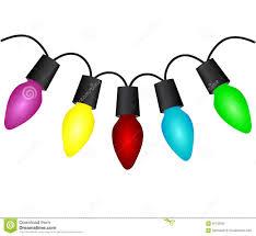 christmas light bulbs clipart 56