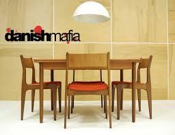 Teak Dining Room Set Brilliant Danish Modern Dining Room Set Chairs M In Design
