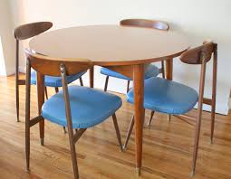 mid century modern round dining table with design gallery 6701