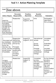 research plan template Template